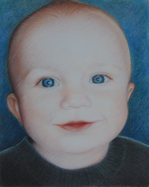 "Portrait  ""Baby Brother"" 2011"
