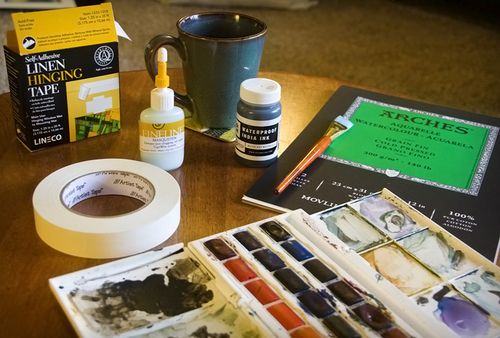 Watercolor Supplies