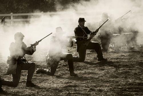 Civil War Reenactment – Tom's Farms 2013