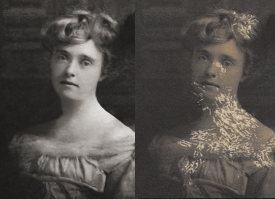 Photo Restoration - detail