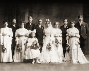 Nana's Wedding Photo Restoration