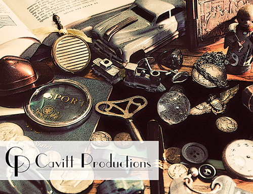 Promotional Postcard for Cavitt Productions