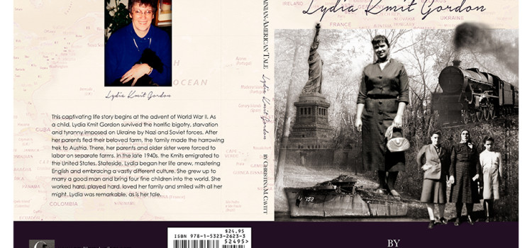 Book Cover Design for Biography