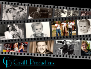 Promotional Postcard for Cavitt Productions - front