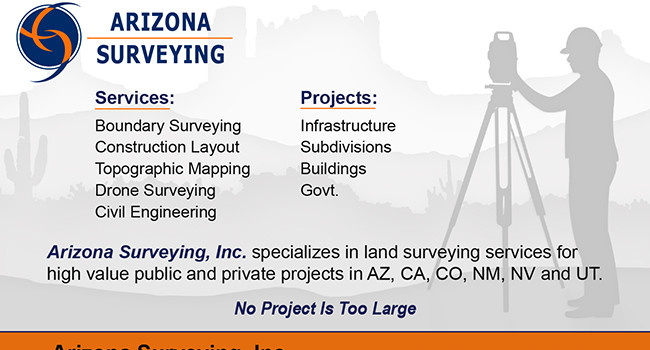Graphic Design Project AZ Surveying