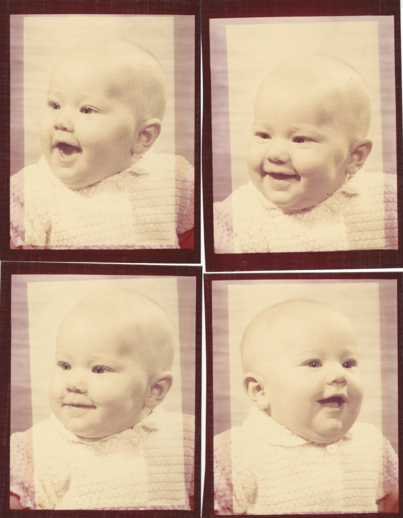 Baby Photos Restoration--before