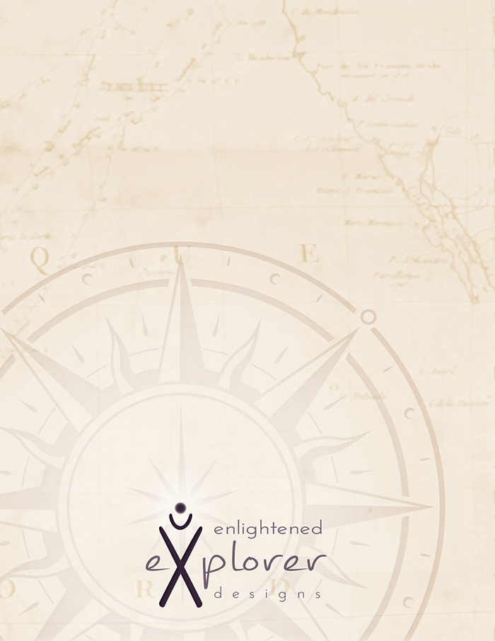 Enlightened Explorer Design product backing