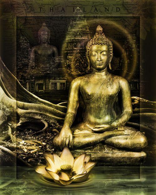 Thai Buddha Panel