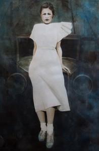 Noni in a White Dress