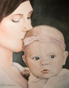 Mother and Baby - 8x10