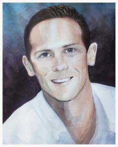Memorial Portrait of a Young Man