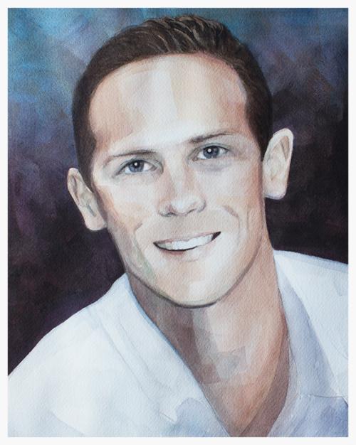 Portrait of Brady