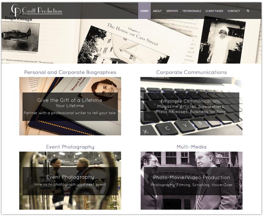 Cavitt Productions Website