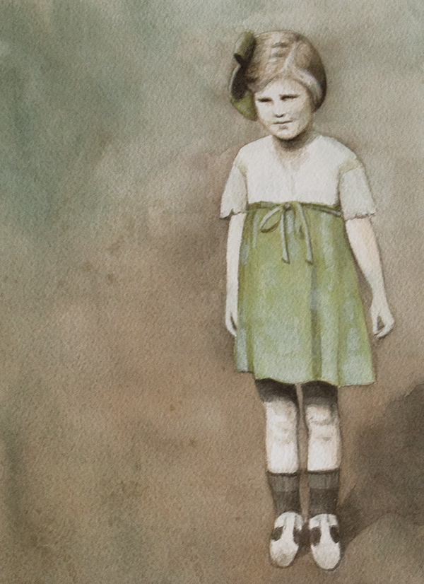 The Green Dress - 8x10 sold