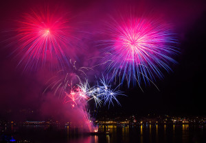 Fireworks on the Bay