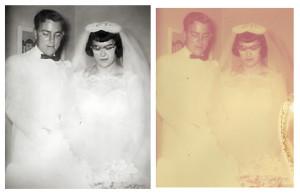 Photo Restoration for Biography