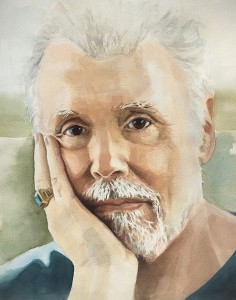 Peter Jacoby Memorial  Portrait 11x14