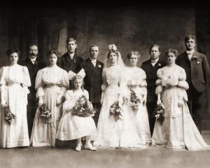 Nana's Wedding Photo Restoration