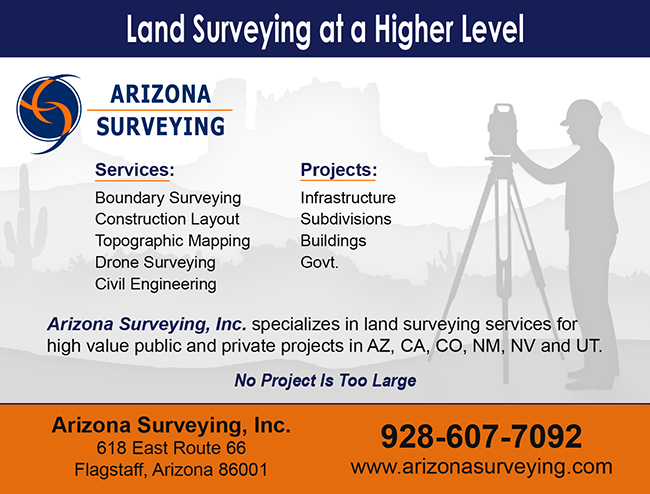Arizona Surveying Ad Design