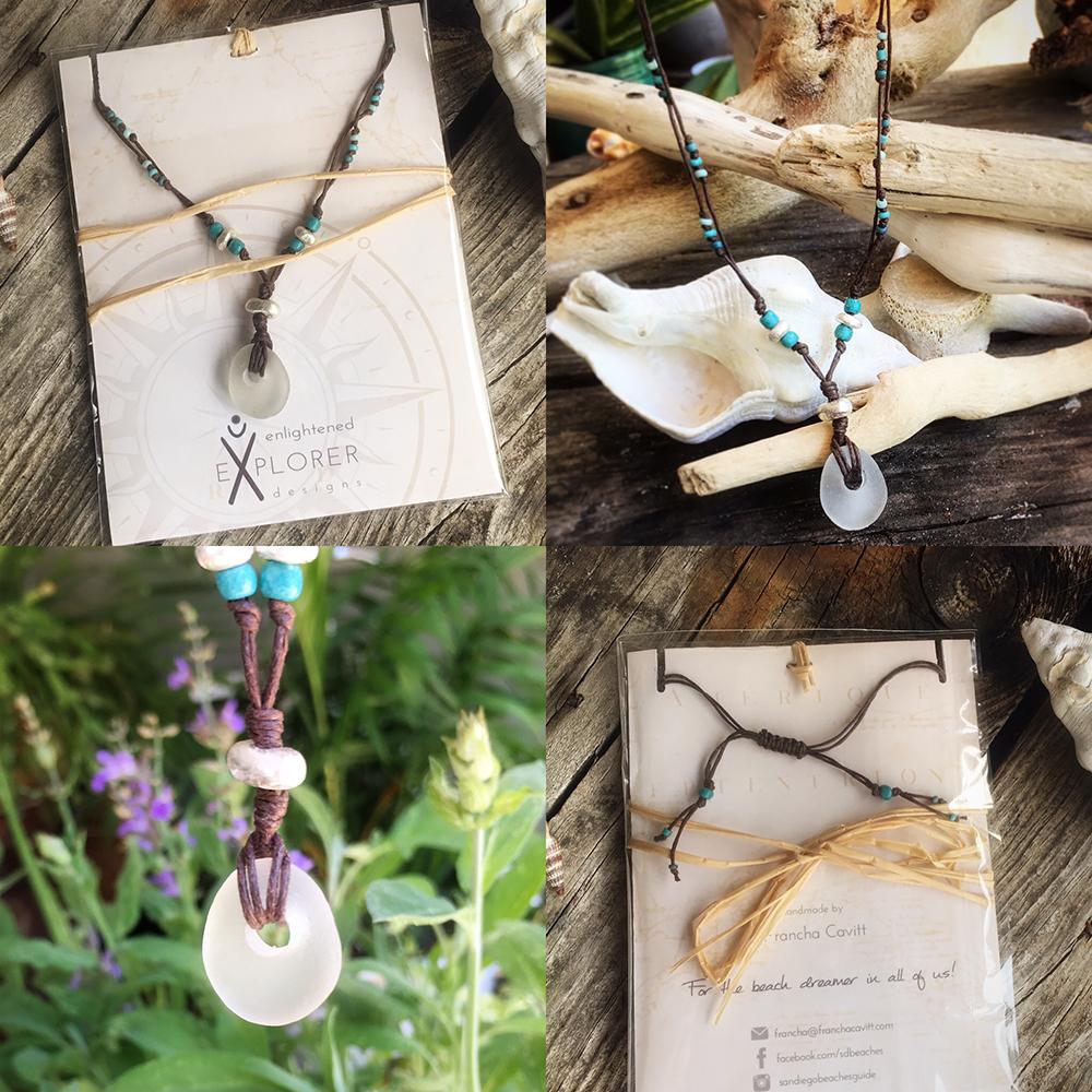 BoHo Seaglass Necklace
