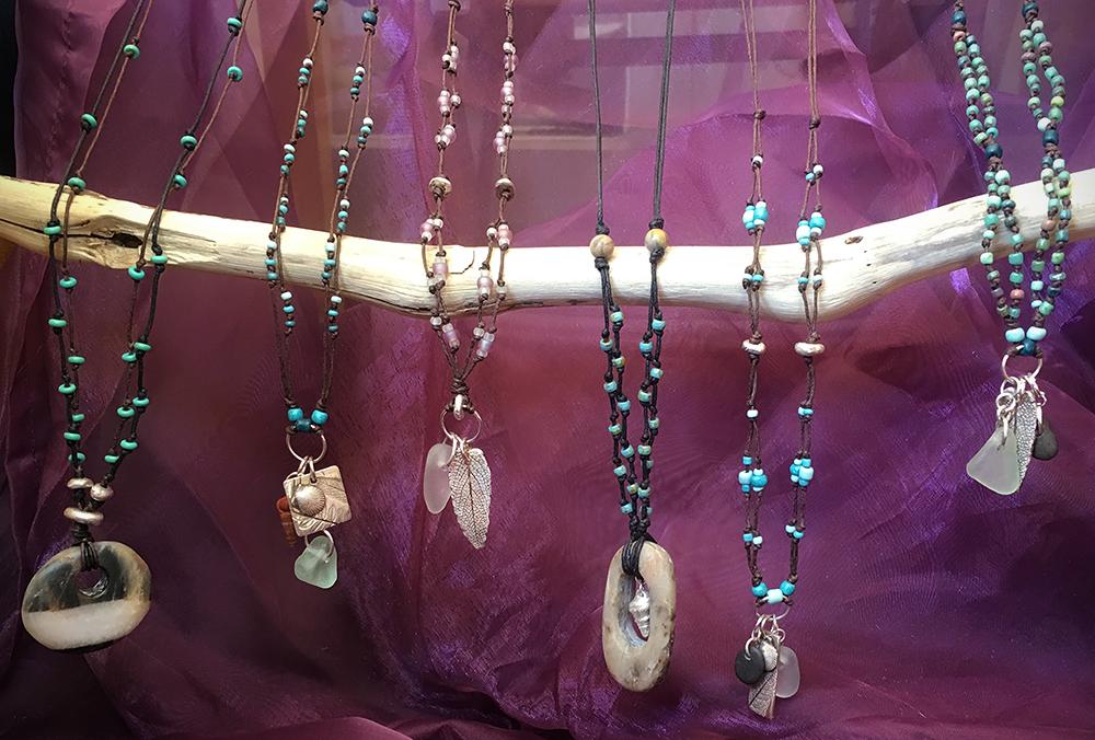 BoHo Sea Charm Necklaces