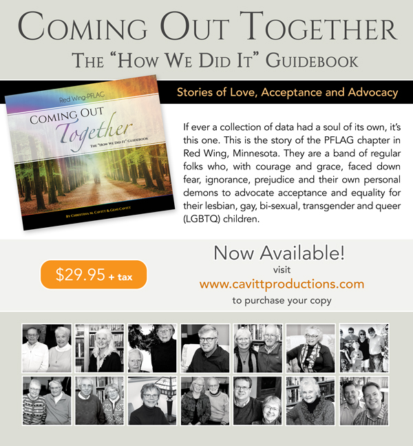 Coming Out Together - Print and Social Media Ad