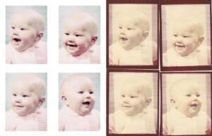 Baby Photo Restoration 1970's
