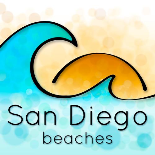 San Diego Beaches Logo - Icon