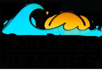 San Diego Beaches Logo - Full